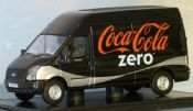 Oxford 76FT017CC Coca-Cola Zero Ford Transit - reduced